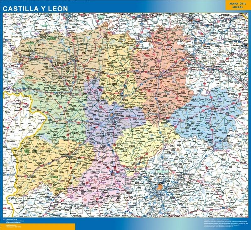 Mapa Magnetico Castilla y Leon