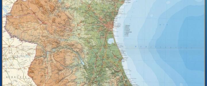 Mapa Magnetico Comunidad Valenciana