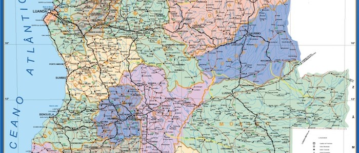 mapa magnetico angola