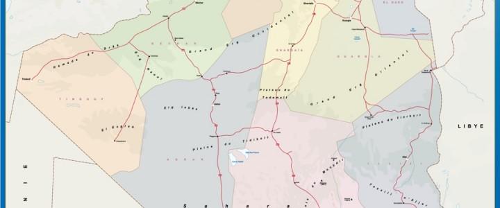 mapa magnetico argelia