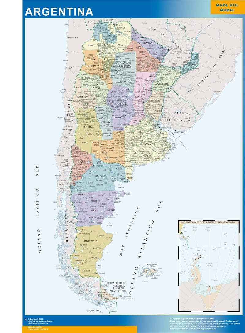 mapa magnetico argentina