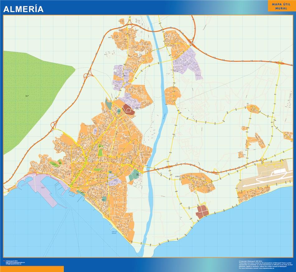 Mapa Magnetico Almería callejero