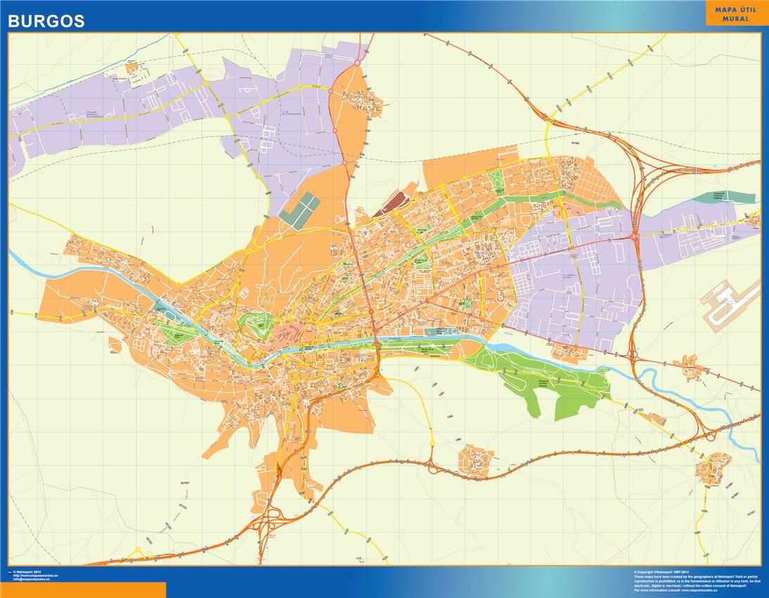 Mapa Magnético Burgos