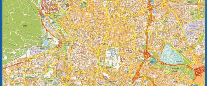 Mapa Magnetico Madrid