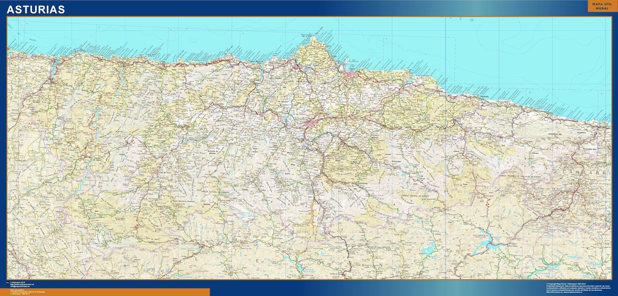 Mapa Magnetico Principado Asturias