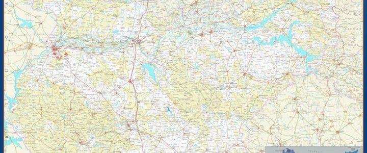 Mapa Magnetico Provincia Badajoz