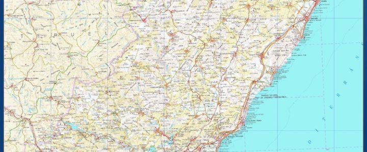 Mapa Magnetico Provincia Castellon