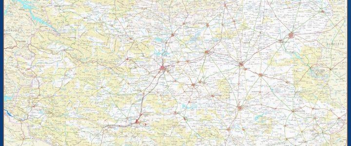 Mapa Magnetico Provincia Ciudad Real