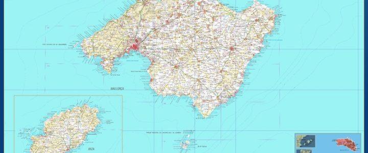 Mapa Magnetico Provincia Islas Baleares