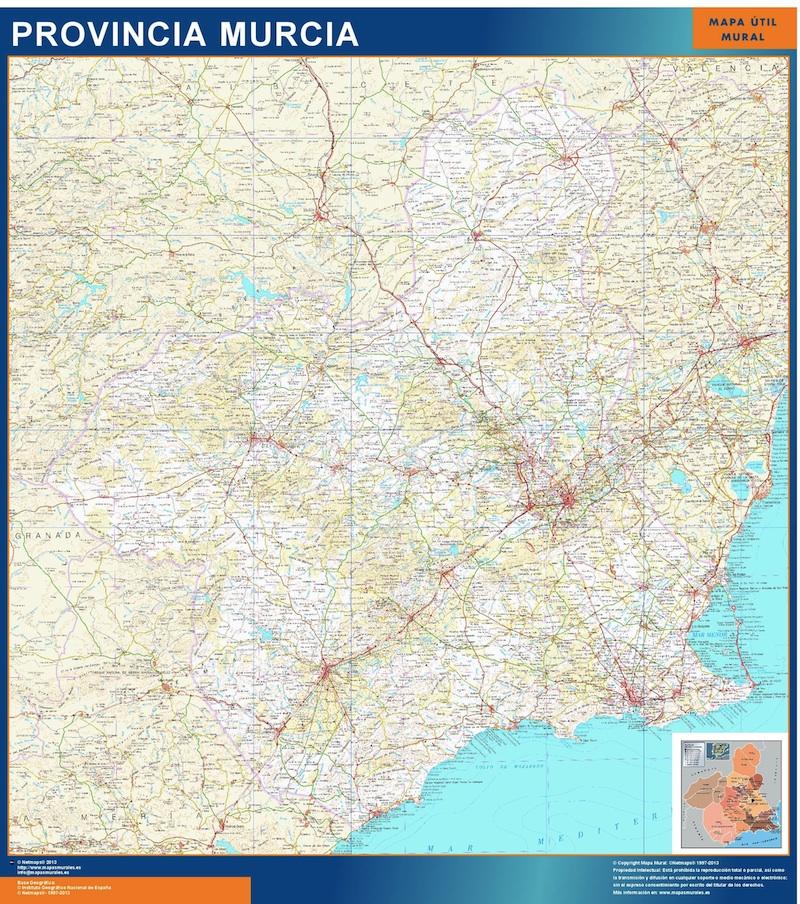 Mapa Magnetico Provincia Murcia