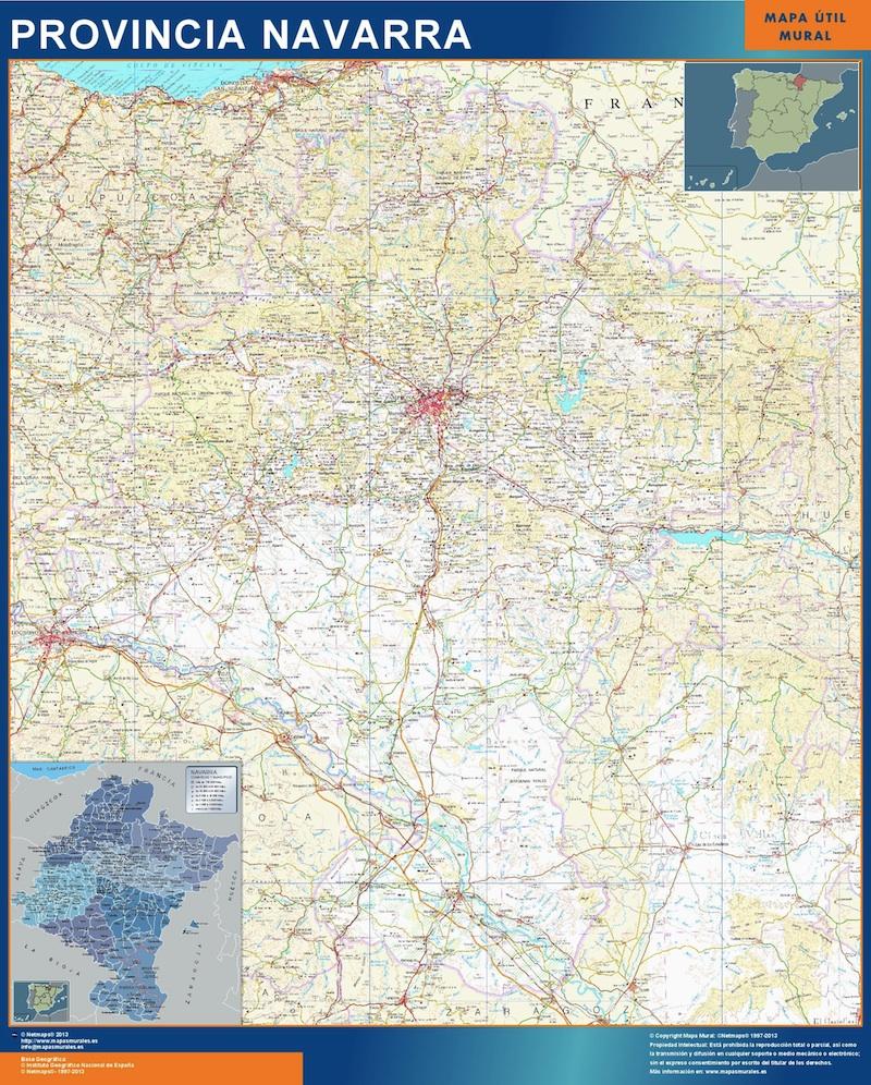 Mapa Magnetico Provincia Navarra